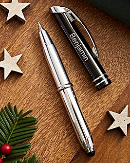 Personalised Triple Function Stylus Pen