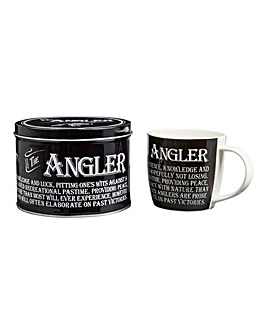 Sporting Mug in Tin