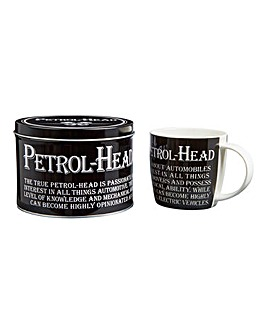 Sporting Mug in Tin
