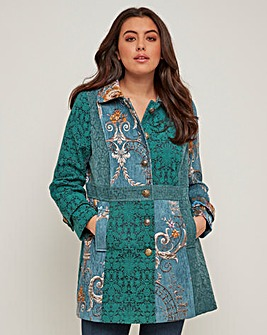 Joe Browns Joyful Jacquard Coat