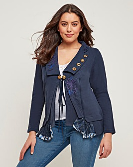 Joe Browns Boutiquey Jersey Jacket