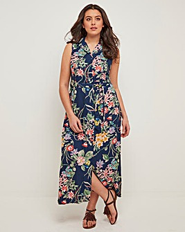 Joe Browns Tropical Floral Shirt Dress