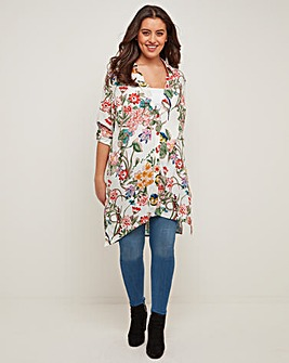 Joe Browns longline Floral Blouse