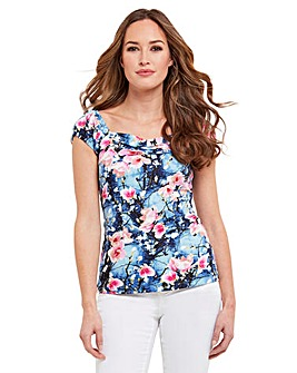 Joe Browns Floral Sweetheart Blouse