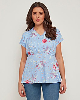 Joe Browns Ruched Front Jersey Top