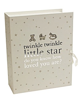 Twinkle Twinkle Keepsake Box with Drawer