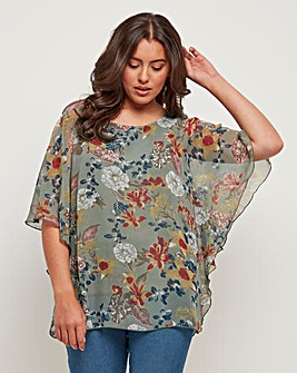 Joe Browns Floaty Floral Blouse