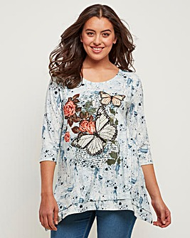 Joe Browns Sequin Butteryfly Tunic
