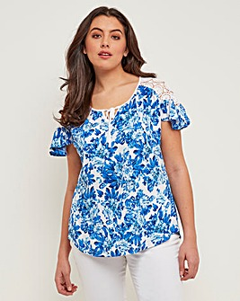 Joe Browns Lace Trim Top