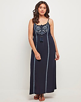 Joe Browns Crinkle Maxi Dress