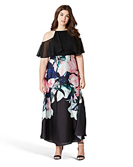 Coast Black Ground Flamenco Maxi