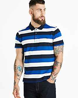 Bewley & Ritch White/Blue Fear Polo R