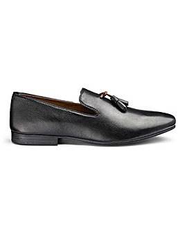 Burton Rivett Embossed Leather Loafers