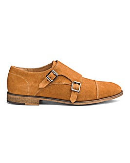 Premium Suede Monk Shoes