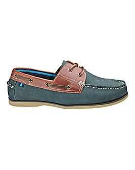 Classic Boat Shoe Wide Fit.