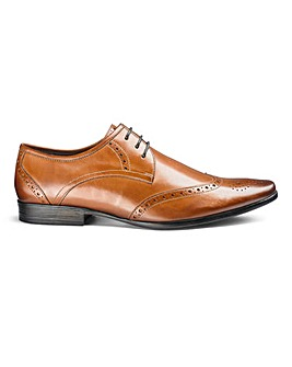 Leather Gibson Brogues Extra Wide Fit