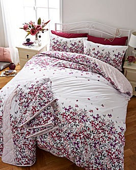 Malinda Blush Duvet Cover Set