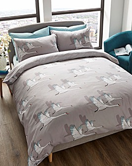 Swans Duvet Cover Set