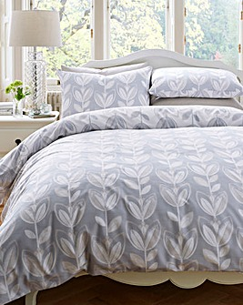 Escada Grey Duvet Cover Set