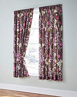 Seaweed Curtains with Tiebacks
