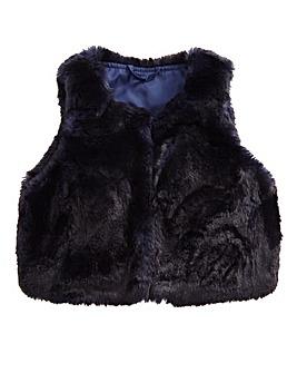 Barneys Girls Faux Fur Gilet (2-7 yrs)