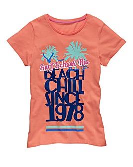KD EDGE Girls Beach T-Shirt (7-13 years)