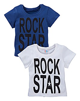 KD BABY Boys Pack of Two T-Shirts