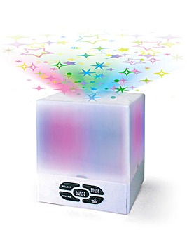 Relaxing Sounds Star Projection Light