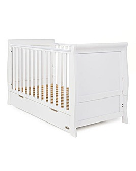 Obaby Stamford Sleigh Cot Bed