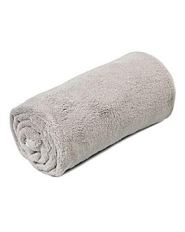 Silentnight Reversible Fleece Blanket