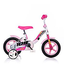 Dinobike 10in Girls Sport Bike