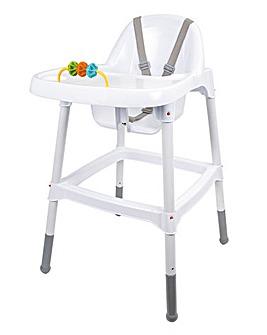 Wipe Clean Plastic Highchair