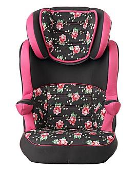 Obaby 2-3 Car Seat - Grey Rose
