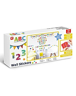 ABC Learn With Me Wall Stickers