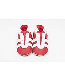 Hippychick Baby Shoes Red Trainers
