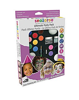 Snazaroo Ultimate Party Face Paint Kit