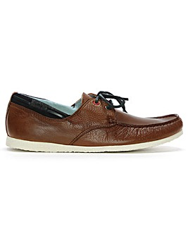 Daniel Barlace Leather Lace Up Loafers