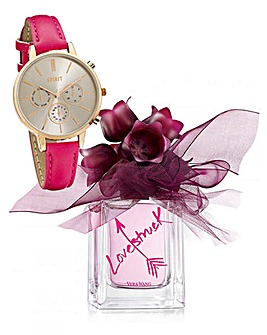 Vera Wang Lovestruck 100ml EDP & Watch