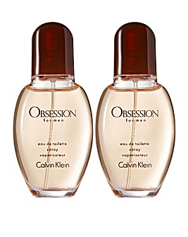 CK Obsession 30ml for Him BOGOF