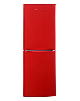Russell Hobbs 50cm Fridge Freezer - Red