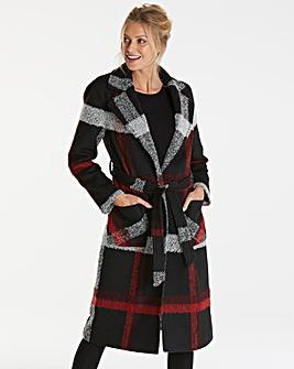 Helene Berman Plaid Coat