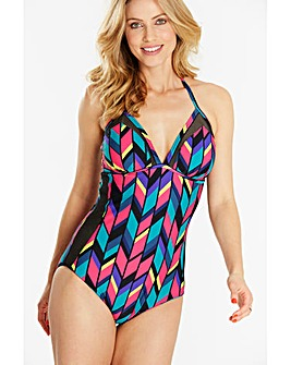 Simply Yours Mesh Panel Swimsuit