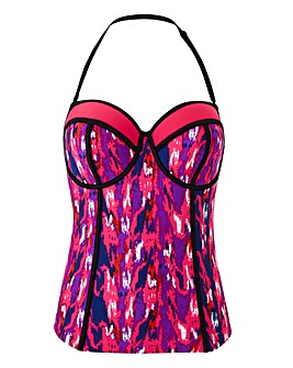 Simply Yours Ikat Tankini Top