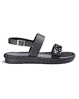 Made In Italy Jewel Sandals EEE Fit