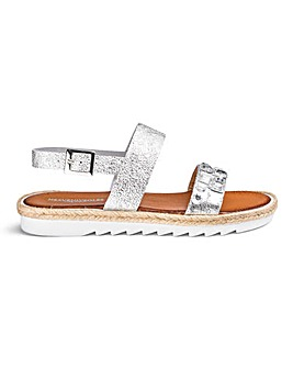 Heavenly Soles Jewel Sandals EEE Fit
