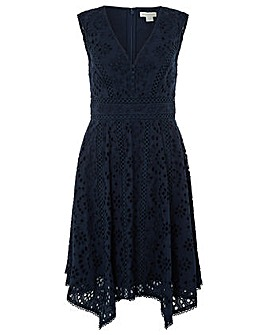 Monsoon Bessie Broderie Dress