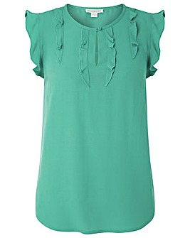 Monsoon Taya Frill Blouse