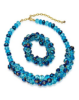 JOANNA HOPE Necklace and Bracelet Set