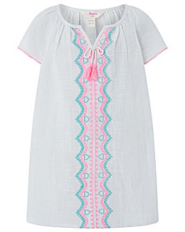 Accessorize Embroidered Loop Kaftan
