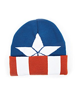 Captain America Shield Beanie